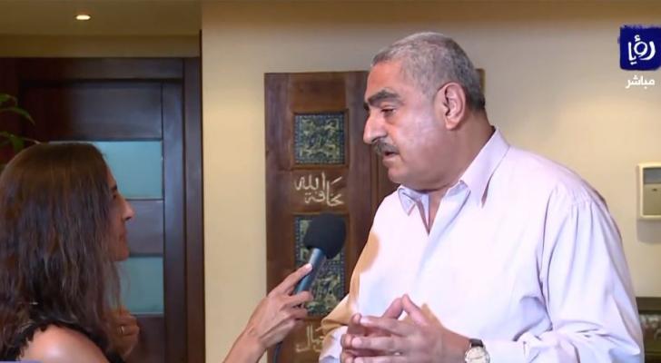المدير العام السابق لوزارة الصحة اللبنانية الدكتور وليد عمار ومراسلة رؤيا