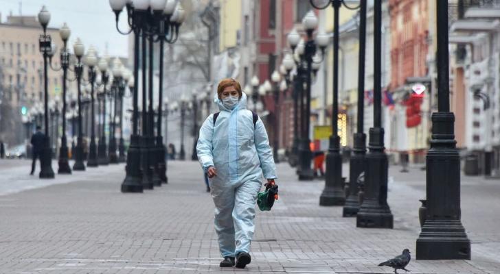 161 وفاة و 5482 إصابة جديدة بفيروس كورونا في روسيا