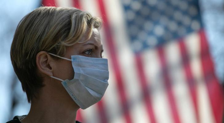 الولايات المتّحدة التي تُعدّ المتضرّر الأوّل جرّاء الفيروس في العالم