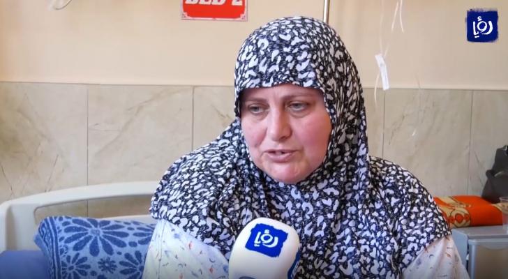 كورونا تحرم أردنية في فلسطين من احتضان أبنائها للعيد الثاني