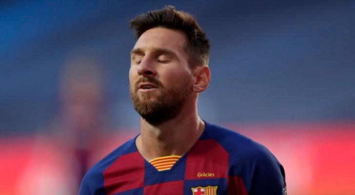 ميسي يهدد بالرحيل عن برشلونة بعد هزيمة الذل أمام البايرن | رؤيا ...