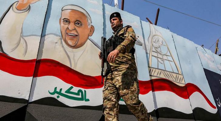 """إجراءات أمنية لـ""""أسوأ السيناريوهات"""" في العراق استعدادا لزيارة البابا   رؤيا  الإخباري"""
