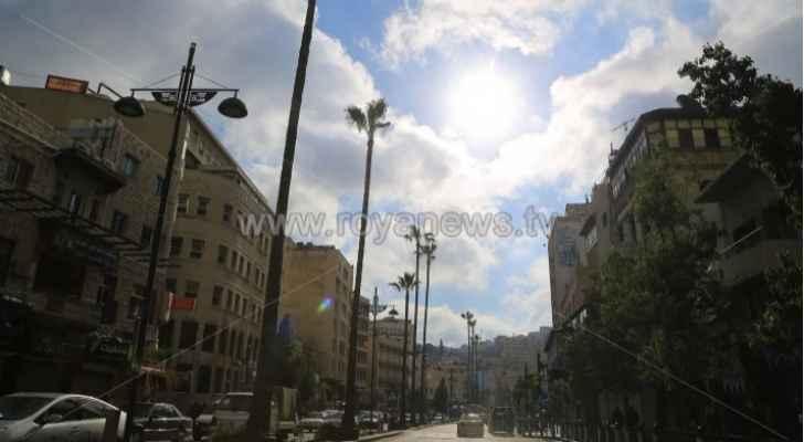 طقس العرب: الكتلة الحارةتتحرك إلى الشرق والشمال الشرقي من المملكة السبت