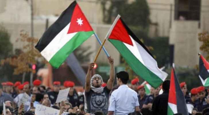 قلبي أردني ودقاته فلسطينية .. وسم يتصدر صفحات التواصل الاجتماعي   رؤيا  الإخباري