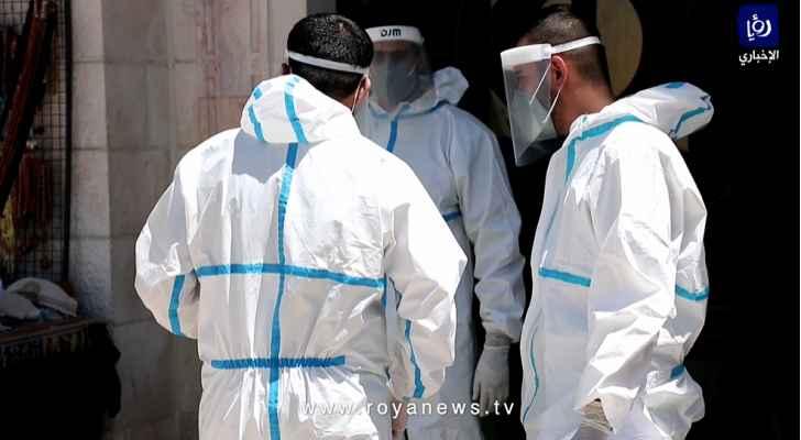 تسجيل 10 وفيات 723 إصابة جديدة بكورونا في الأردن الاثنين