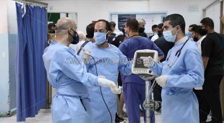 تسجيل 10 وفيات و1008 إصابات جديدة بكورونا في الأردن الخميس