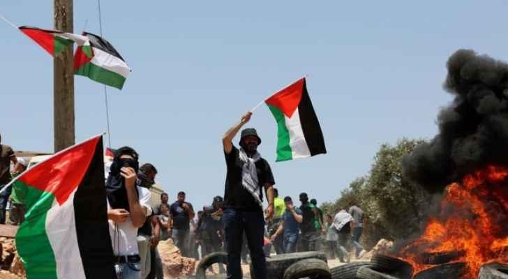 إصابة العشرات بمواجهات مع الاحتلال الإسرائيلي في بيتا