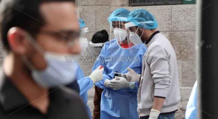 """""""الصحة"""" تعلن أعداد وفيات و إصابات كورونا في الأردن الإثنين"""