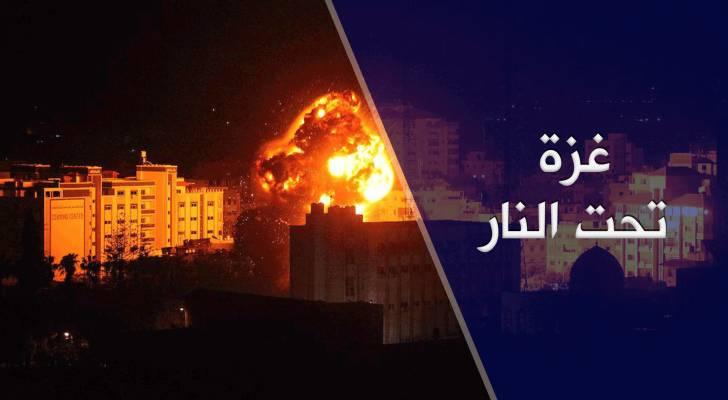 غزة تستقبل رمضان 2019 بعدوان صهيوني جديد