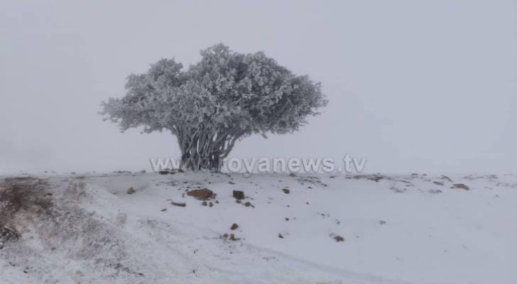 منخفض جوي قطبي يؤثر على الأردن ويحمل معه الثلوج