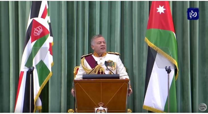 جلالة الملك يؤكد ضرروة تنفيذ الحكومة لخططها الاقتصادية لتحفيز النمو