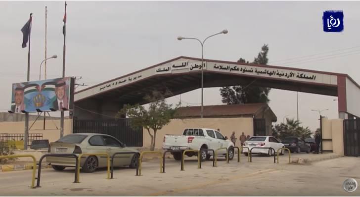 حركة مسافرين نشطة تشهدها الحدود البرية بين الأردن وسوريا