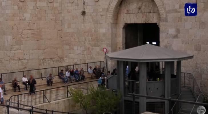 الاحتلال يشوه معالم بلدة القدس القديمة من خلال طمس ملامحها