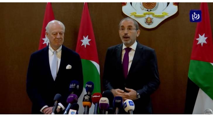 الصفدي: موقف الأردن ثابت ولا بد من إيجاد حل سياسي للأزمة السورية