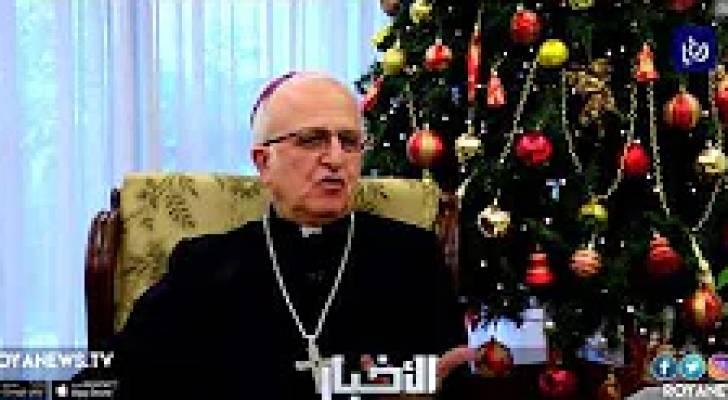 """المطران وليم الشوملي يتحدث الى رؤيا عن موقف رؤساء الكنائس من قضية """"الوكيل"""" - (12-12-2018)"""