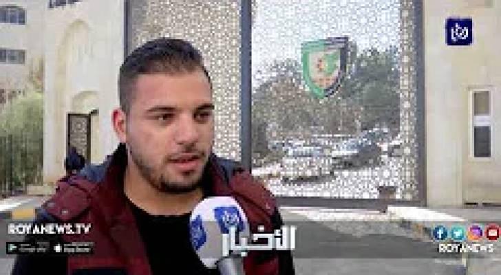 وقفة احتجاجية في جامعة البلقاء