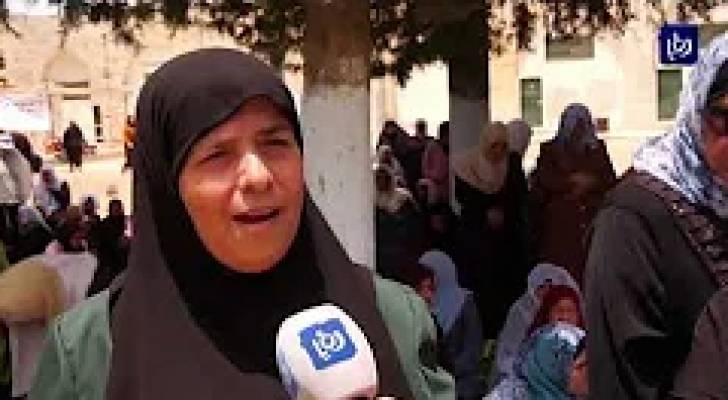 أكثر من 100 ألف مصل في المسجد الأقصى في الجمعة الثالثة لشهر رمضان
