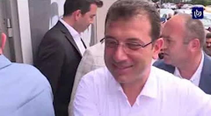 الأتراك يصوتون في انتخابات الإعادة لبلدية اسطنبول