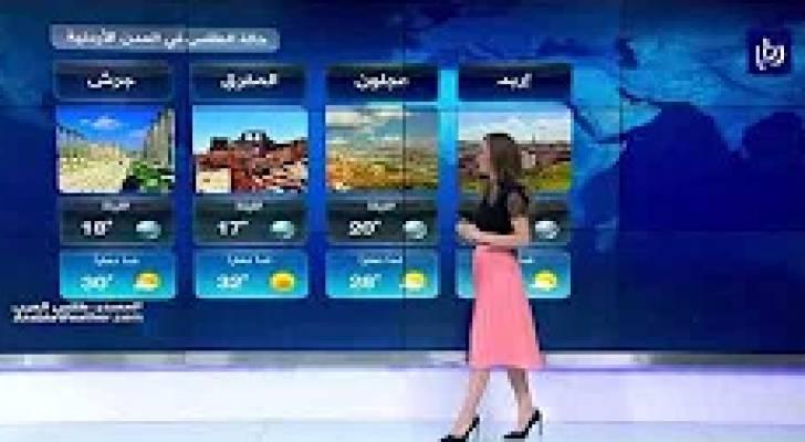 النشرة الجوية الأردنية من رؤيا 19-8-2019