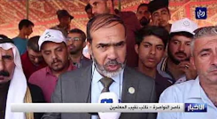 إضراب في المدارس الحكومية للأسبوع الثالث ووقفات احتجاجية للمعلمين