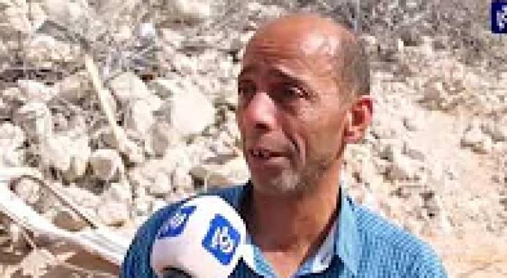 الاحتلال يهدم منزل والد الشهيد علي خليفة بمزاعم عدم الترخيص