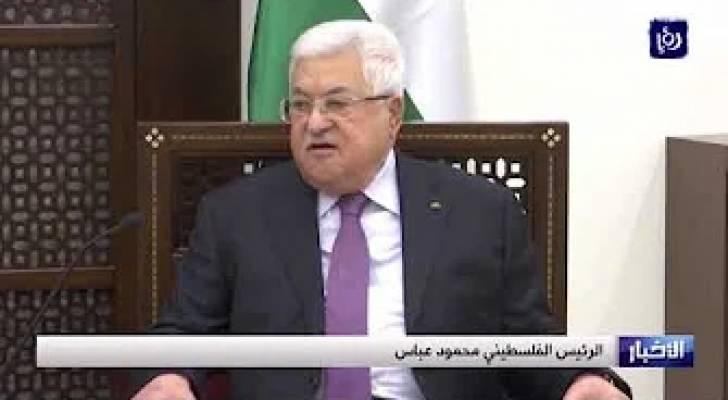 عباس وبوتين يبحثان مستجدات القضية الفلسطينية